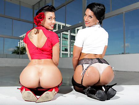Pornstars with huge asses